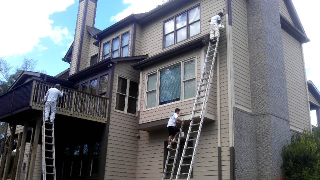 Sandy springs painting d r painting and construction for Exterior painting