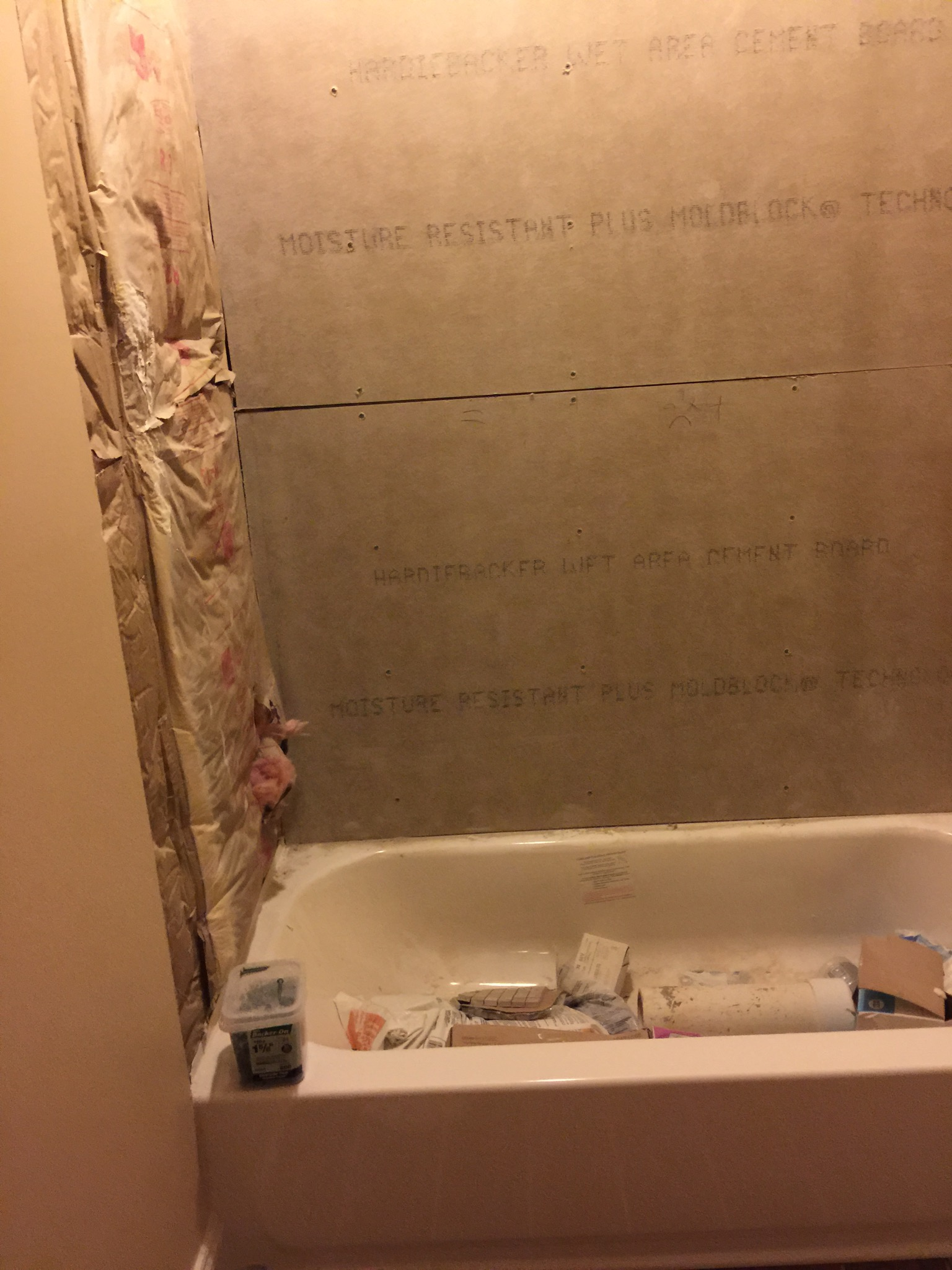 New Residential Shower D Amp R Painting And Construction